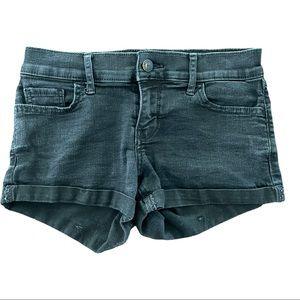 Hollister Low Rise Denim Shorts 24